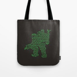 Bastion Typography illustration Tote Bag