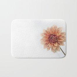 Dahlia Flower Bath Mat