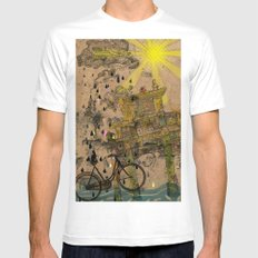 Chastity arch MEDIUM Mens Fitted Tee White