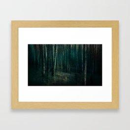 Dark night of the soul Framed Art Print