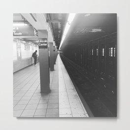 Lincoln Center Subway Metal Print