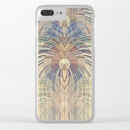 Deco Wood Clear iPhone Case