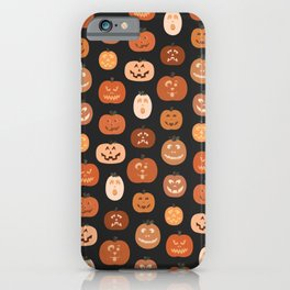 jack o' lanterns. iPhone Case