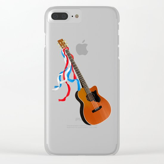 Acoustic Bass Clear iPhone Case