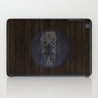 skyrim iPad Cases featuring Shield's of Skyrim - Falkreath by VineDesign