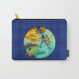 A Vision of Tlaloc Carry-All Pouch