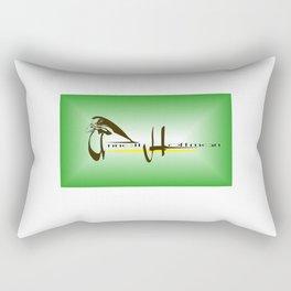 Annette Hoffman logo2 Rectangular Pillow