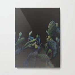 3d cactus 1 Metal Print