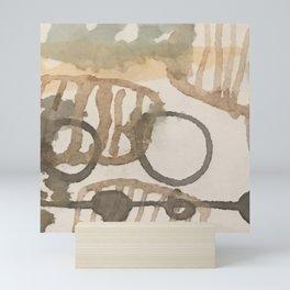 Inner pattern Mini Art Print