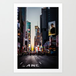 Times Square From Afar Art Print
