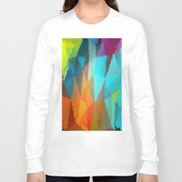 stained glass Long Sleeve T-shirts featuring Stained Glass  by Latidra Washington