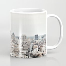 Downtown Detroit Skyline View from New Center Coffee Mug