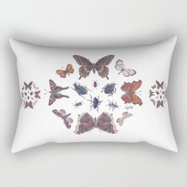 Mosaic of Bugs Rectangular Pillow