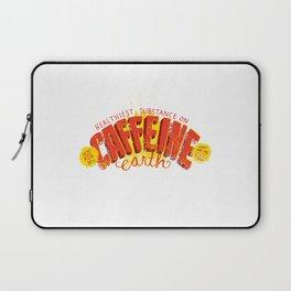 Caffeine Print Laptop Sleeve