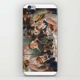 Auguste Renoir - Luncheon of the Boating Party (Le déjeuner des canotiers) iPhone Skin