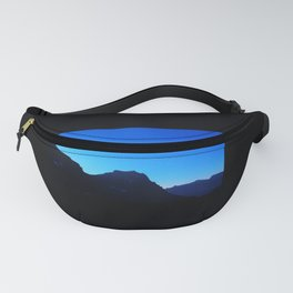 Dawn at Glacier National Park, Rocky Mountains, Going to the Sun Road, Logan Pass Fanny Pack