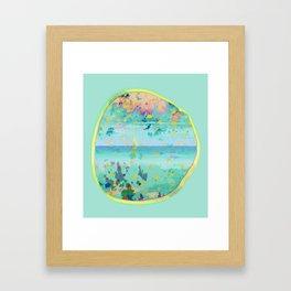 Alissia World B Framed Art Print