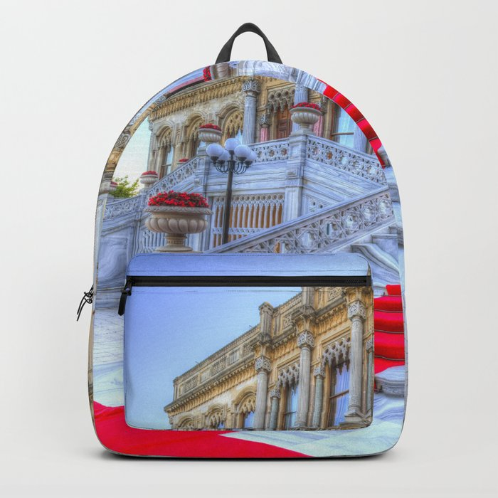 Ciragan Palace Istanbul Red Carpet Backpack