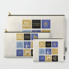 Hygge Holidays Carry-All Pouch
