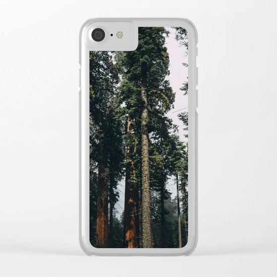 Woods #fog Clear iPhone Case
