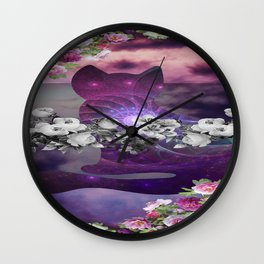 catflow Wall Clock