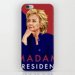 Hillary Poster  iPhone Skin