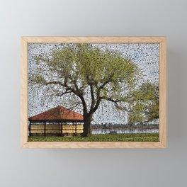 Lake Wendouree Pavilion Ballarat Framed Mini Art Print