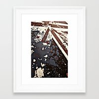 uk Framed Art Prints featuring UK  by Kees