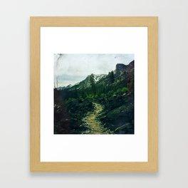 The Bitterroot Framed Art Print