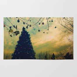 Christmas Tree at Dusk Rug