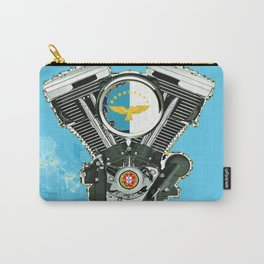 Azores Islands Motorcycle Culture. Carry-All Pouch