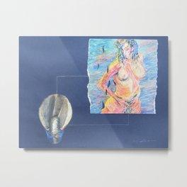 Venus Rising Metal Print