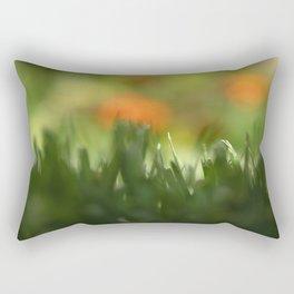 Fuzzy Landscape Rectangular Pillow