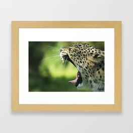 Roaaar Framed Art Print