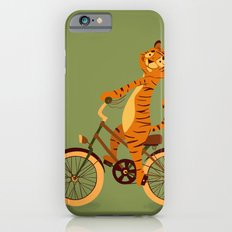 Tiger on the bike iPhone 6s Slim Case