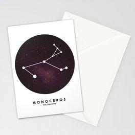 Monoceros - Star Constellation Stationery Cards