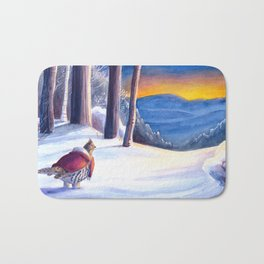 The Path Ahead Bath Mat