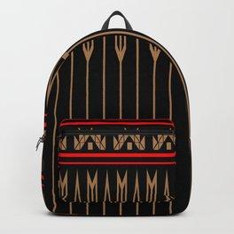 Arrows (Black Red) Backpack