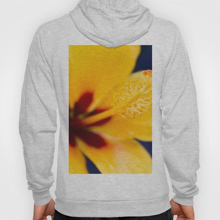 Hibiscus Lemon Drop Tropical Fancy Flowers Hoody