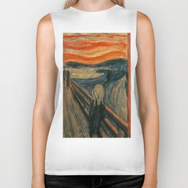 Edvard Munch's The Scream Biker Tank