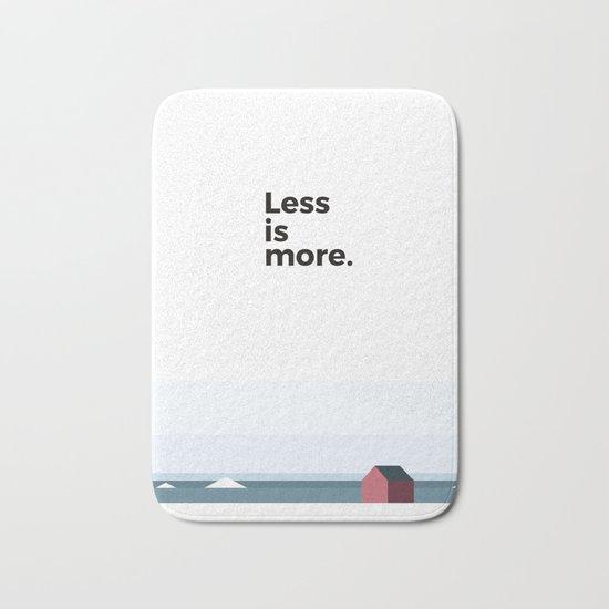 Less is more Bath Mat