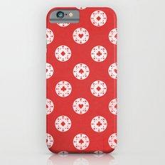 Poker Dots iPhone 6s Slim Case