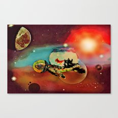 SPACE TURTLE VII - 202 Canvas Print
