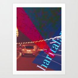 Story of the Roads - 3 Art Print