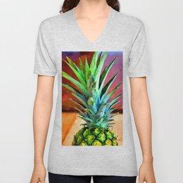 Pineapple 2 Unisex V-Neck