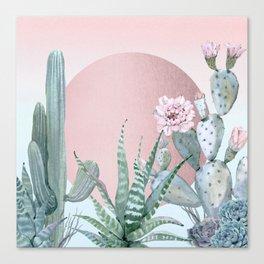 Desert Sunset by Nature Magick Canvas Print