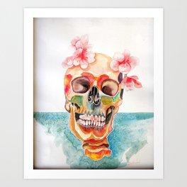 dead but happy Art Print