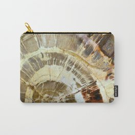 Abstract mineral texture Carry-All Pouch