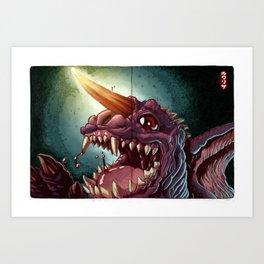 Baragon GMK Art Print