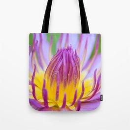 Floral Greeting Tote Bag